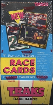 1991 Traks Racing Hobby Box