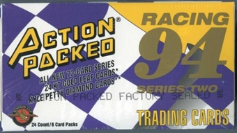 1994 Pinnacle Action Packed Series 2 Racing Hobby Box