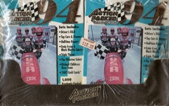 1994 Pinnacle Action Packed Series 3 Racing Hobby Box
