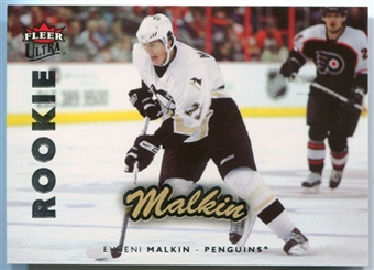 2006/07 Fleer Ultra #251 Evgeni Malkin Rookie Card RC