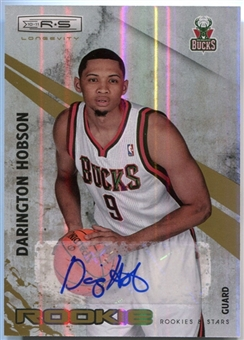 2010-11 Rookies and Stars Longevity Signatures #119 Darington Hobson /799