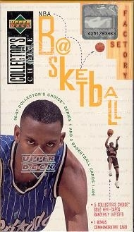 1996/97 Upper Deck Collector's Choice Basketball Factory Set (box)