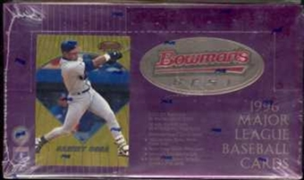 1996 Bowman's Best Baseball Hobby Box
