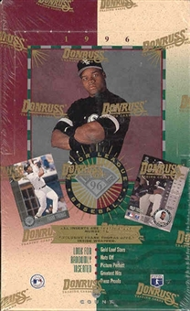 1996 Leaf Baseball 36 Pack Box