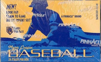 1996 Score Select Baseball Hobby Box
