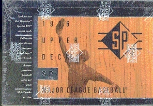 1996 Upper Deck SP Baseball Hobby Box