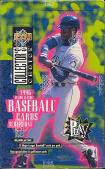 1996 Upper Deck Collector's Choice Series 1 Baseball Hobby Box