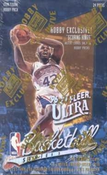 1996/97 Fleer Ultra Series 2 Basketball Hobby Box