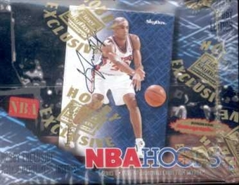 1996/97 Hoops Series 1 Basketball Hobby Box