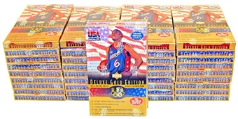1996/97 Upper Deck USA Gold Edition Basketball 38-Box Case