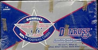 1996 Donruss Football Hobby Box