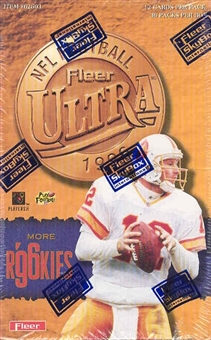 1996 Fleer Ultra Football Hobby Box