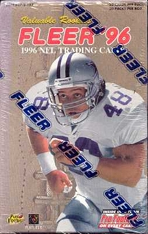 1996 Fleer Football Jumbo Box
