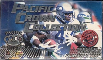 1996 Pacific Crown Collection Football Hobby Box