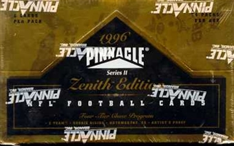 1996 Pinnacle Zenith Football Hobby Box