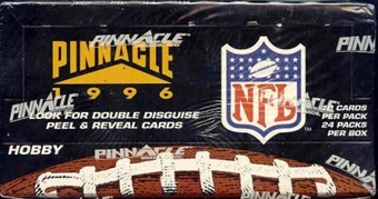 1996 Pinnacle Football Hobby Box