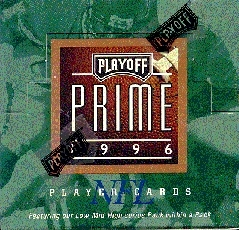 1996 Playoff Prime Football Hobby Box