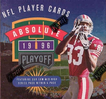 1996 Playoff Absolute Football Hobby Box