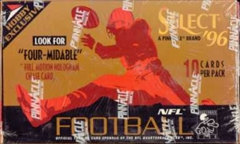 1996 Score Select Football Hobby Box