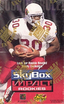1996 Skybox Impact Rookies Football Hobby Box