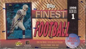 1996 Topps Finest Series 1 Football Hobby Box