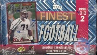 1996 Topps Finest Series 2 Football Hobby Box