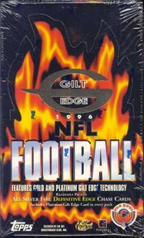 1996 Topps Gilt Edge Football Hobby Box