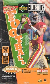 1996 Upper Deck Collector's Choice Football Hobby Box