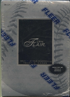 1996 Fleer Flair Baseball Retail Box