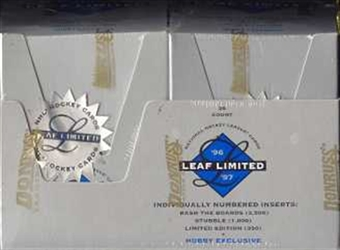 1996/97 Leaf Limited Hockey Hobby Box