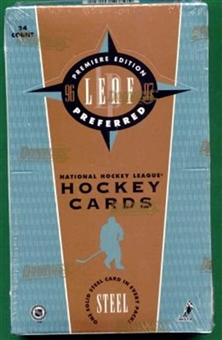 1996/97 Leaf Preferred Hockey Hobby Box