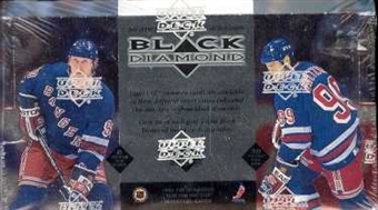 1996/97 Upper Deck Black Diamond Hockey Hobby Box