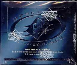1996/97 Upper Deck SPx Hockey Hobby Box