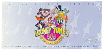 1996 Upper Deck Looney Tunes Olympic Cards Set
