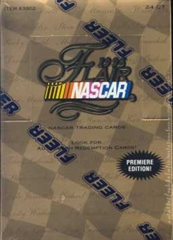 1996 Fleer Flair Racing Hobby Box