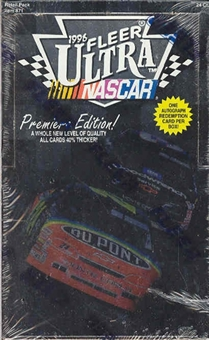 1996 Fleer Ultra Racing 24 Pack Box