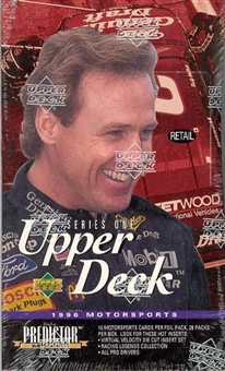 1996 Upper Deck Racing 28-Pack Retail Box