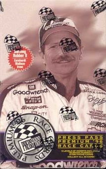 1996 Press Pass Premium Racing Hobby Box