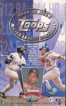 1996 Topps Series 2 Baseball Hobby Box