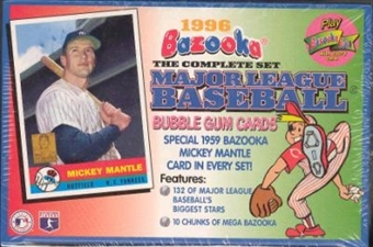 1996 Topps Bazooka Baseball Factory Set (box)
