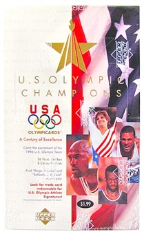 1996 Upper Deck U.S. Olympic Champions Prepriced Box