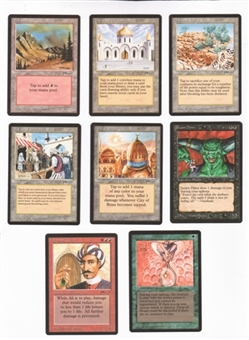 Magic the Gathering Arabian Nights Complete 78-Card Set SLIGHT PLAY