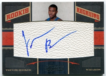2010/11 Timeless Treasures #123 Trevor Booker Rookie Autograph /299