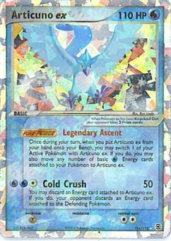 Pokemon Fire Red Leaf Green Single Articuno ex 114/112