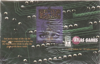 On the Edge Booster Box (1994 Atlas Games)