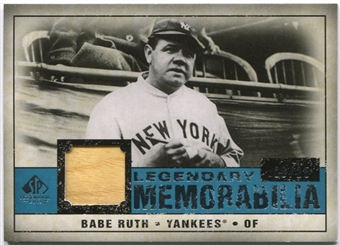 2008 Upper Deck SP Legendary Cuts Legendary Memorabilia #BR Babe Ruth /25