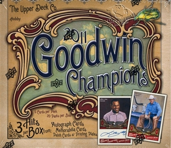 2011 Upper Deck Goodwin Champions Hobby Box