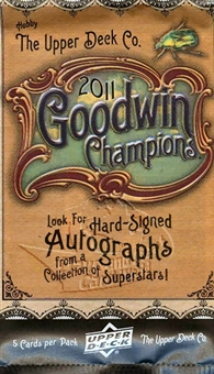 2011 Upper Deck Goodwin Champions Hobby Pack