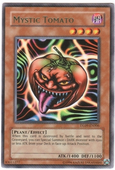 Yu-Gi-Oh Duelist League Single Mystic Tomato Green Rare