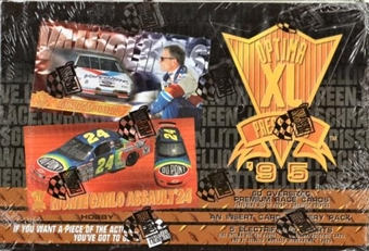 1995 Press Pass Optima XL Racing Hobby Box